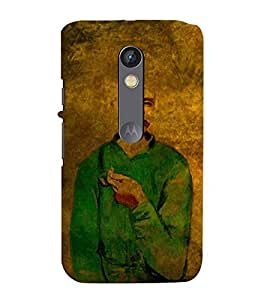 PrintVisa Designer Back Case Cover for Motorola Moto X Play (Hero Noted Person Dignified Star Personality)