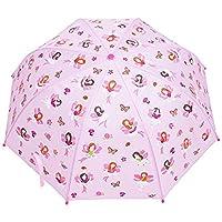 Babalu Kids Umbrella - Childrens 18 Inch Rainy Day Umbrella - Fairies