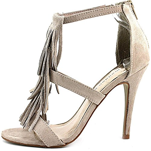 Madden Girl Demiiii Toile Sandales Taupe