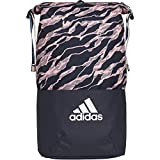 adidas Erwachsene ZNE Core Graphic Rucksack, Collegiate Navy/Clear Orange/White, 17 x 26.5 x 54 cm