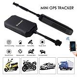 TianranRTDispositif de Repérage Anti-Perte Gsm/Sms 3G Du Mini Tk300 Gps(Noir)