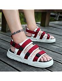 fankou rutschfeste Sommer Hausschuhe Badeschuhe Sandalen im Sommer und trendige Lounge sind cool und 44903-1...