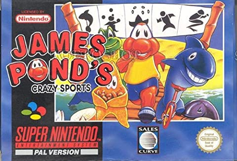 James ponds crazy sports - Super Nintendo - PAL