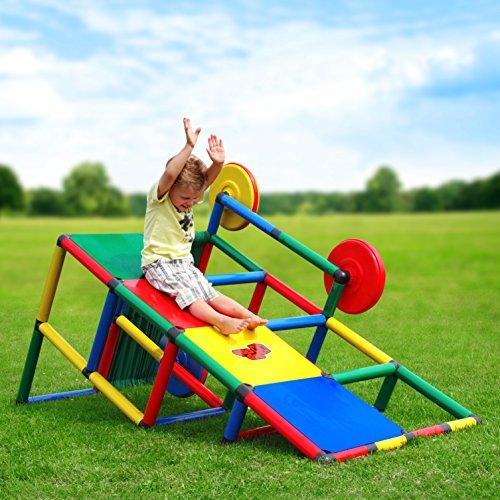 Quadro | Basic | Klettergerüst für drinnen und draußen | Fördert entwicklung von Kindern | Beliebig modular & erweiterbar | 6 Jahre Garantie | Ab 1 bis 6 Jahren