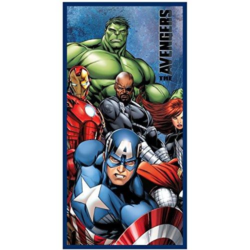 Avengers Telo Mare Piscina 70x140cm 100% Cotone Prodotto Ufficiale Novità 820-370