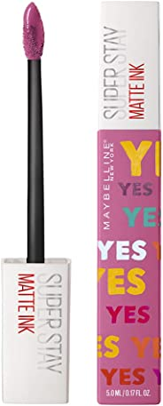 Maybelline New York Stay Matte Ink Liquid Lipstick x Ashley Longshore, Lover, 5g