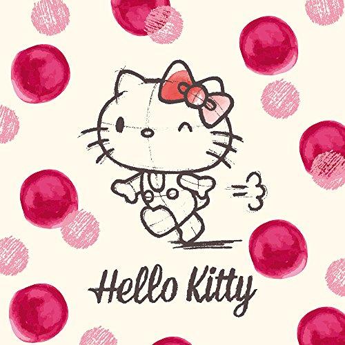 Apple iPhone SE Case Skin Sticker aus Vinyl-Folie Aufkleber Hello Kitty Fanartikel Merchandise Pünktchen DesignSkins® glänzend