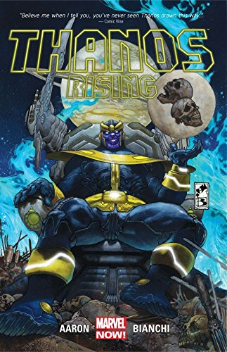 "Collects Thanos Rising #1-5.The vile face of Thanos left audiences in shock after last summer's Marvel Studios' ""The Avengers"" movie...but who is this eerily disturbing villain? Discover the hidden truth, as Thanos rises as the unrivaled rogue of wre..."