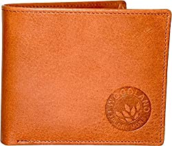 Woodland Mens Tan Colour Casual Wallet