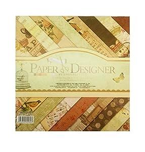 Disok- Block 40 láminas otoño / 20 diseños, Multicolor (9694)