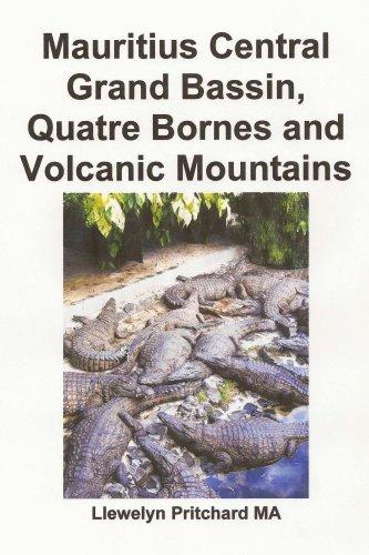 Mauritius Central Grand Bassin, Quatre Bornes and Volcanic Mountains: Souvenir Bilduma bat argazki koloretan epigrafeekin (Argazki Albumak Book 12) (Basque Edition) por Llewelyn Pritchard