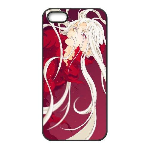 Deadman Wonderland coque iPhone 5 5S Housse téléphone Noir de couverture de cas coque EBDXJKNBO12870