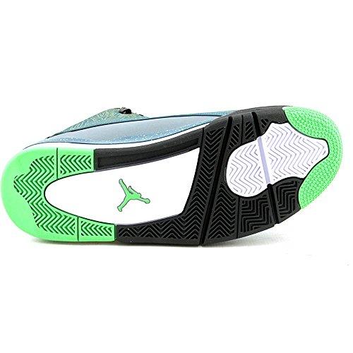 Nike Air Jordan Dub Zero, Chaussures de Sport-Basketball Homme, Taille 330-TEAL LIGHT GREEN SPARK BLUE GRAPHITE BLACK