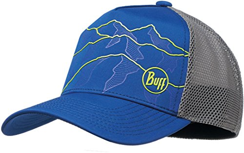 Buff Trucker Tech Cap, Herren, Blau (Solid Cape Blue),S/M