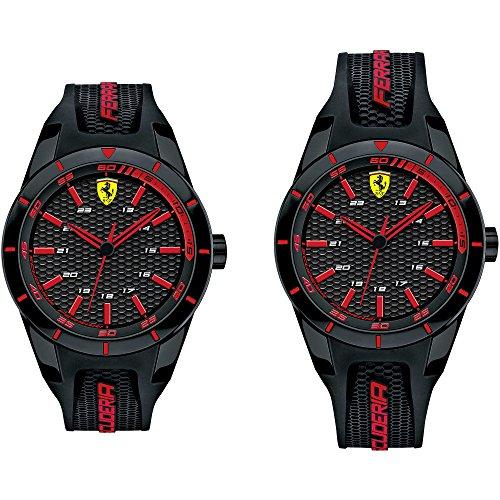Reloj solo tiempo para hombre Scuderia Ferrari redrev deportivo Cod. fer0870017