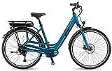 E-Bike Winora B180.X Einrohr 400Wh 28' 8-G Shimano Acera blau div. Rh