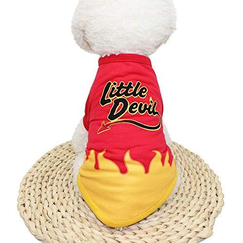 Dragon868 Hund Pullover Warm Hunde-Kleidung Polyester T-Shirt Welpenkostüm