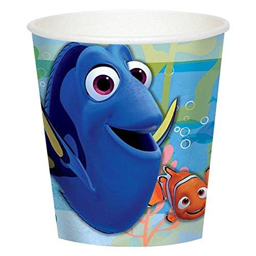 Neuheit Kunststoff Kinder Bunte Abfall bin- perfekt für Kindern Kinderzimmer und Lehre Kindern zu werfen ihre Mülleimer Away in dieser farbenfrohen Blue Finding Dory