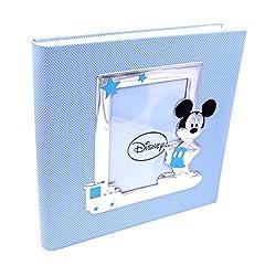 Idea Regalo - Valenti&Co_Album Fotografico_Argento_Mickey Mouse_Disney_30x30cm