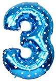#8: Balloonistics Printed Three Number Foil Balloon 16