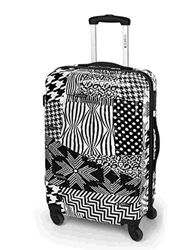Gabol Trend Maleta, 66 cm, 59 Litros, Negro