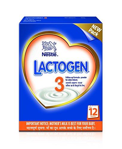 Nestlé LACTOGEN 3 Follow Up  Infant Formula (after 12 Months) 400g