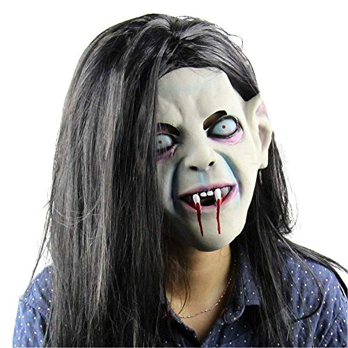 Fanfan Latex Creepy Scary Halloween Zahn Zombie Geistermaske Halloween Maske Skorpion Pullover Horror Party Cosplay Maske