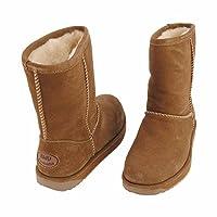 Emu Womens Waterproof Sheepskin Lined Boots S3 Oak - Paterson Lo