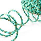 50m POLYPROPYLENSEIL 2mm GRÜN Polypropylen Seil Tauwerk PP Flechtleine Textilseil Reepschnur Leine Schnur Festmacher Rope Kunststoffseil Polyseil geflochten