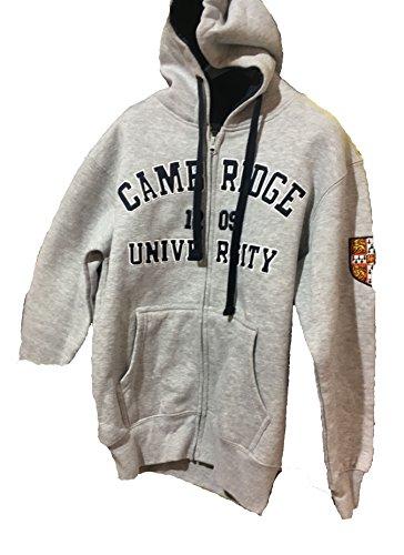 Offizielle Hoodie Cambridge University - grau - offizielle Kleidung von der berühmten Universität von Cambridge (Spitze Cambridge)