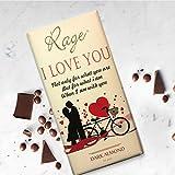#8: Rage I Love U Dark Almond Chocolate - 90 Grams
