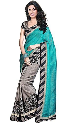 Saree (Crawler Creation Sarees For Women Party Wear Half Sarees Offer Designer...