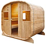 HOLLS Sauna Traditional Barrel Poolstar HL-ED1020