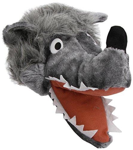�tze zum Tierkost�m Erwachsene Wolfshut (Wolf Kostüm Hut)