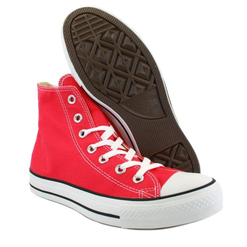 Converse Ctas Core Hi, Baskets mode mixte adulte Rose (Framboise)
