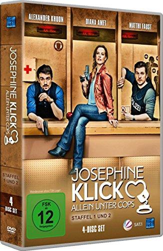 Josephine Klick - Allein unter Cops Staffel 1 + 2 (exklusiv bei Amazon.de) [4 DVDs] Preisvergleich