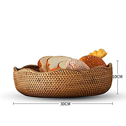 European and American ideas of bread basket/ dried fruit tray/ bread basket/ rattan fruit basket-A