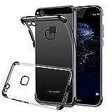 HOOMIL Durchsichtige Handyhülle für Huawei P10 Lite Hülle, Silikon Transparent Schutzhülle für Huawei P10 Lite Case Cover, HD3264