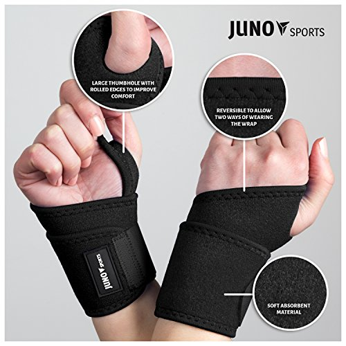 Junosports Adjustable Wrist – Wraps