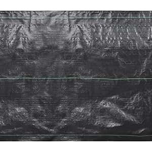 Nappe contre mauvaises herbes en polypropylène 25 x 2m 125g/m2