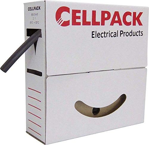Image of Cellpack Schrumpfschlauch SB 1.6-08 sw in Abrollbox 15m Schrumpfschlauch 4010311035499