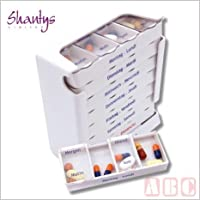 Shantys Tablettendispenser 7 Tage (kleine Fächer) preisvergleich bei billige-tabletten.eu