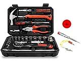45 Steckschlüssel Set Auto LYLgjx Repair Automarke Dimension Kombination Kit Hardware Toolbox Ratschenschlüssel Set