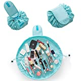 Trousse de toilette maquillage Organiseur de kit Portable et étanche Grande  Poche Cosmétique Mode Femme Bijoux c85c8b46c177