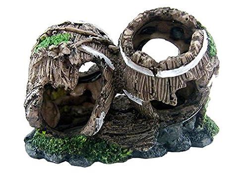 Aquarium Ornament Dekoration 2 Gebrochen
