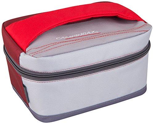 Coleman freez'box coolbox picnic, borsa frigo, l, 3 litri unisex, bianco/rosso, unica