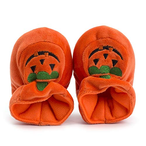 Quaan Neugeborenes Schuhe, Kleinkind Baby Mädchen Jungen Halloween Herde Kürbis Weich Beiläufig Foto Schuhe Niedlich Weich Atmungsaktiv Rutschfest Festival Turnschuhe Retro Klassisch Party Sneakers