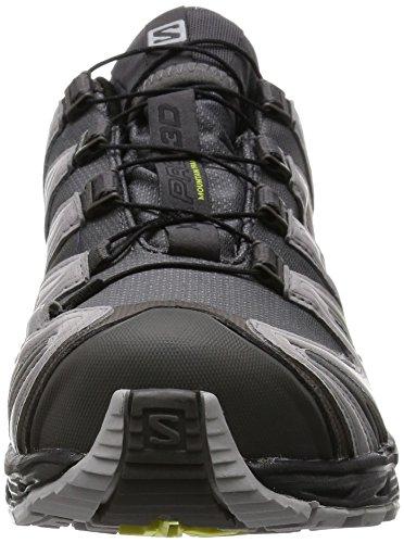 Salomon XA Pro 3D, Chaussures de randonnée homme Gris (Autobahn/Aluminium/Corona Yellow)