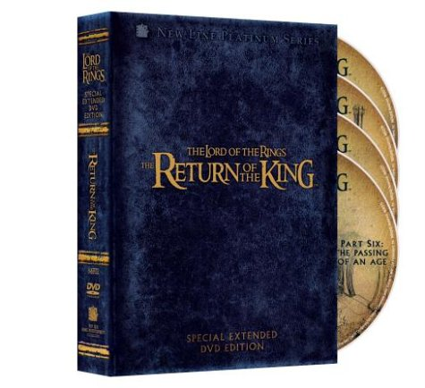 The lord of the rings fellowship of the ring. Special extended dvd.