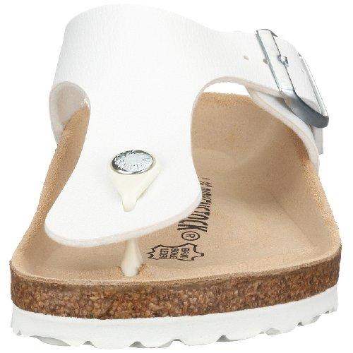 Birkenstock RAMSES BF 44791 Unisex-Erwachsene Zehentrenner Weiß (WEISS)